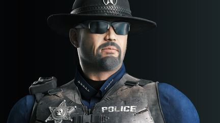 Sheriff Eli - High Poly