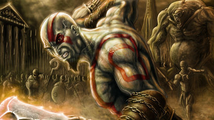 God of War: 2much enemies are never enough