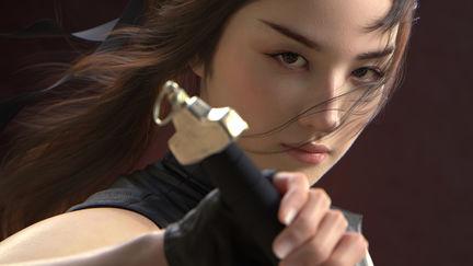 Liu yifei likeness as Mulan