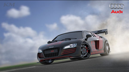 Automotive Modeling: Audi R8