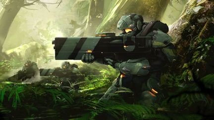 Armor concept keyshot