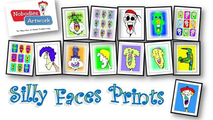 Silly Faces Prints