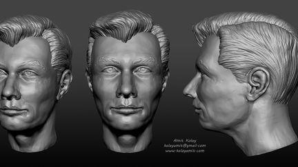 Imaginary Head Sculpt