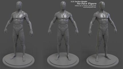 No Face Figure