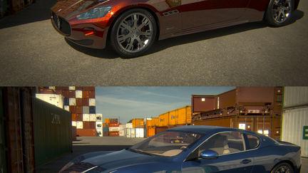 Maserati GT rendering