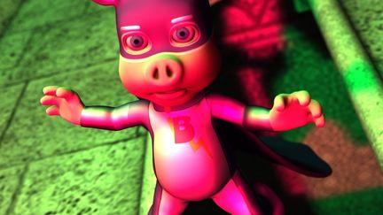 Pig's away