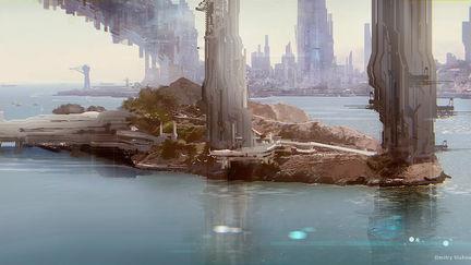 Base on the island