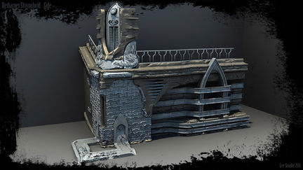 Betharyes Stronghold - Side