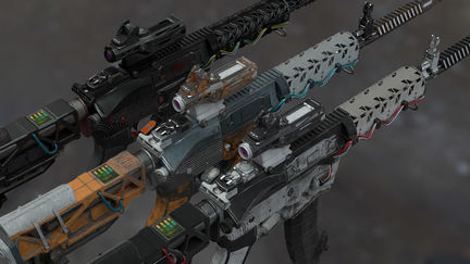 Leesouder sci fi ar15 coil gun 1 c2c12122 zr9x