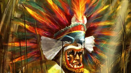 Cuatepoztli. Aztec Warrior for Guerra de Mitos.