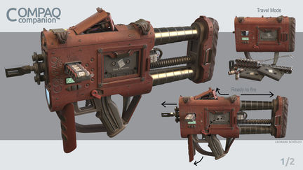 COMPAQ Personal Defense Weapon