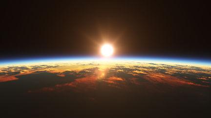 Orbital Sunset