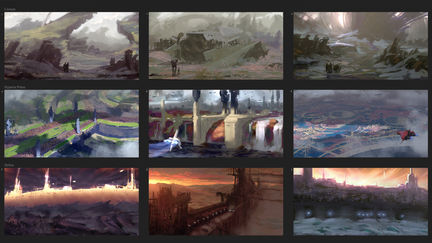 Location Thumbnail Sketches I