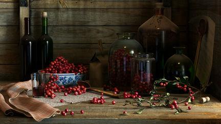 Cherry Red Wine