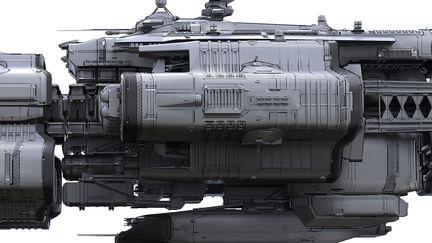 space ship 1a
