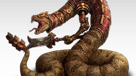 Rattlesnake warrior
