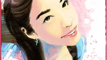 Digital Painting Portrait Friend