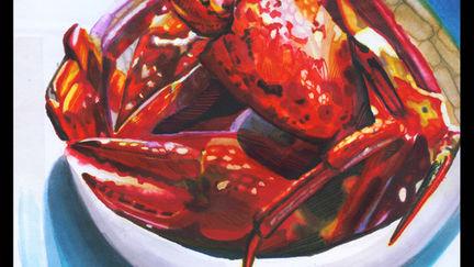 Marker Rendering Crab