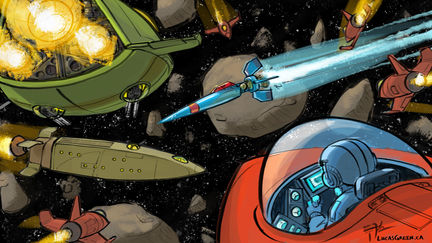 Ambush in the Asteroid Belt