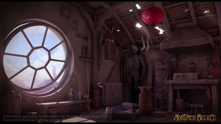 Mortimer Beckett Environments _ Chineese Room