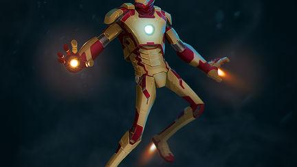 Iron Man MARK XLII - illustration
