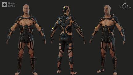Frameshift - 3D Character Models