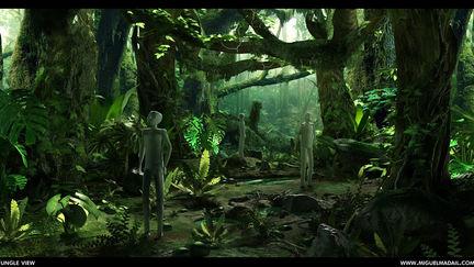 Tropical Jungle WIP