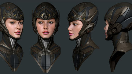 some ZBrush design work in my spare time...