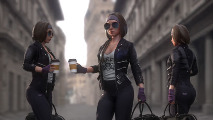 FitoGirl |3D Game Model