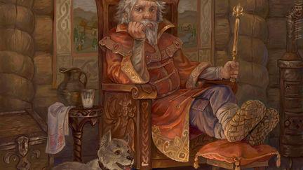 Tsar Goroh (King Pea)