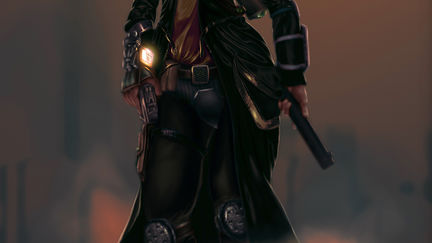 Concept   Painting Character for Game