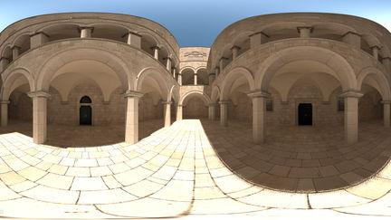 Sponza Atrium VR panorama