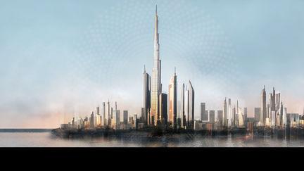 Conceptual cityscape