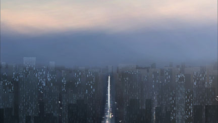 Greeble city