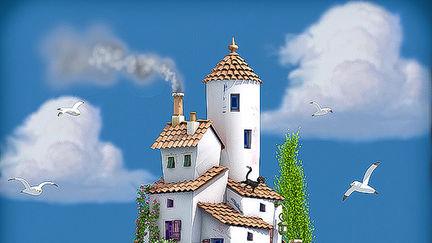 Flying village