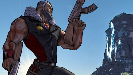 Borderlands style character
