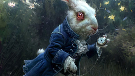 Alice in Wonderland - White Rabbit Concept