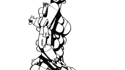 Love Chains Rockets Sketch