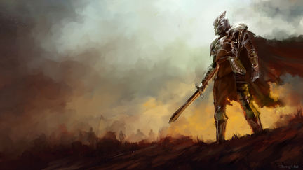 Daily Spit paint - Paladin