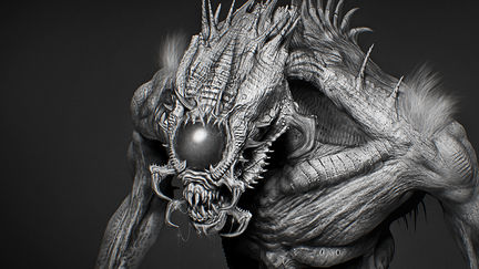 Insectoid Rough Concept (W.I.P.)