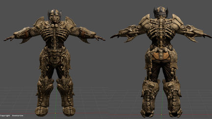 Bone armour