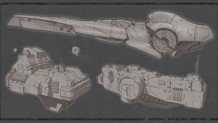 Spacecraft sketches