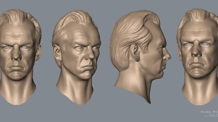 Hugo Weaving bust