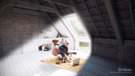 Advertising campaign Velux by Miysis