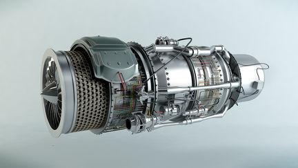 Jet Engine turbine SL1