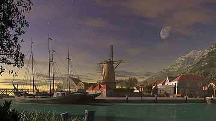 Zeeland- Island Town.