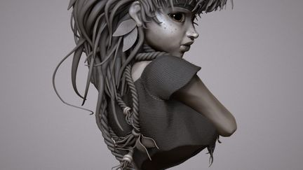 Aloy - Horizon Zero Dawn Fan Art...