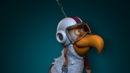 Major Arthur B. McCluckster - Speed Sculpt...