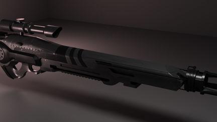 Sci fi Gun
