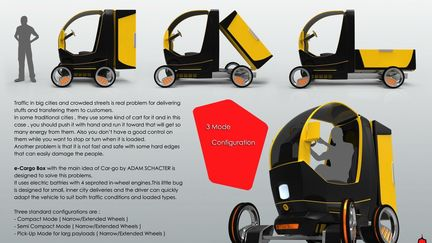 e-Cargo Box ( Electric City Cargo Vehicle )